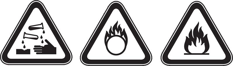 ADR Hazardous goods signs 2