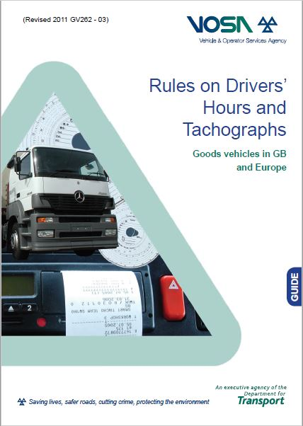 FP1. VOSA Rules on Drivers' Hours and Tachographs LGV