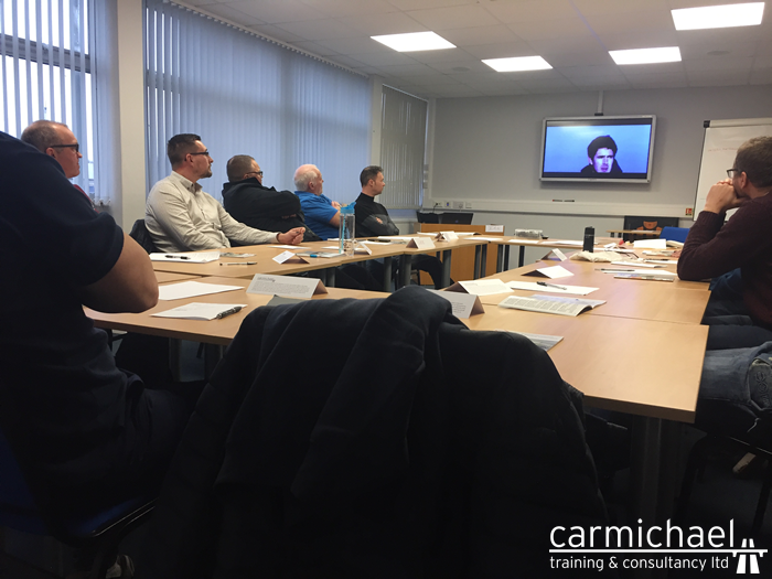 Transport Managers Training Customers in Hull